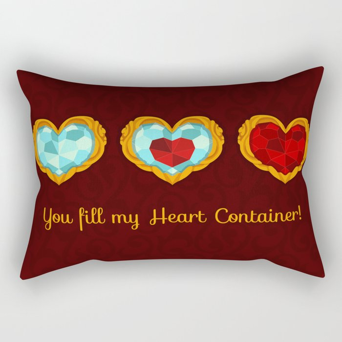 HEART CONTAINER Rectangular Pillow