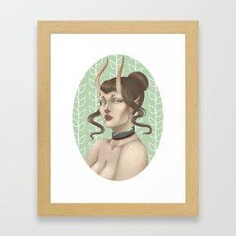 Deadly Nature Framed Art Print