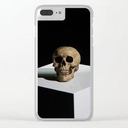 Hamlet's Skull Clear iPhone Case