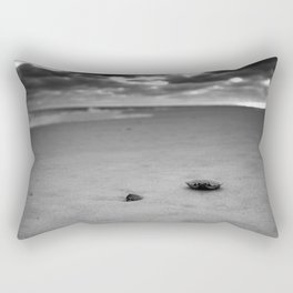 CRAB SHELL ON THE SAND Rectangular Pillow