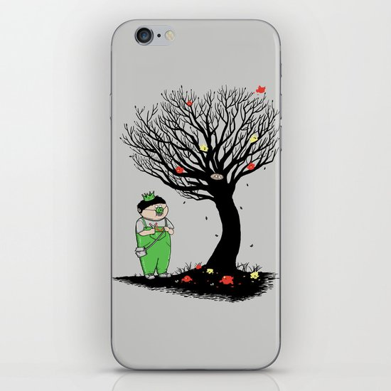 The Egg Collector iPhone & iPod Skin