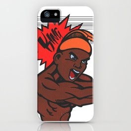 King Kamehameha Dragonball Style iPhone Case