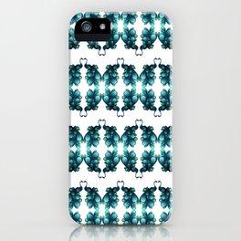 Blue Peacocks iPhone Case