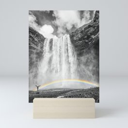 ICELAND Skogafoss Mini Art Print