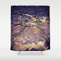 hawaii Shower Curtains featuring Hawaii by Slow Toast