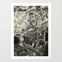 Riot Art Print