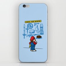 Weapon of Choice iPhone & iPod Skin