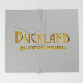 Buckland Logo Throw Blanket