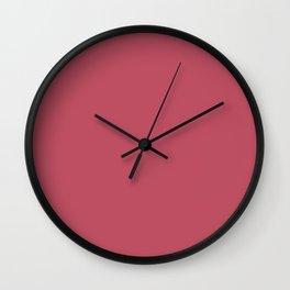 Popstar - solid color Wall Clock