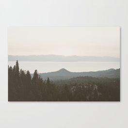 Lake View Canvas Print