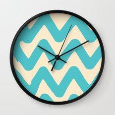 Sunset Breaks Wall Clock