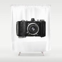 Old Retro Camera Shower Curtain