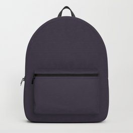 Flare ~ Blue Plum Coordinating Solid Backpack