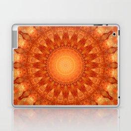 Mandala orange  Laptop & iPad Skin