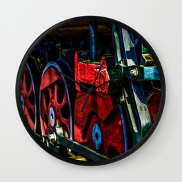 Vintage Steam Engine Crank Link Wall Clock