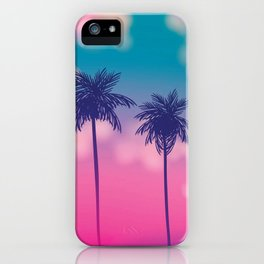 Cotton Candy Island iPhone Case