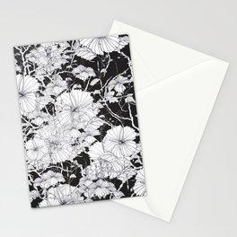 Hibiscus meets Pandanus (St. Damien 1) Stationery Cards