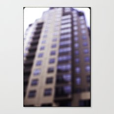 Losing Focus in Downtown Seattle Canvas Print