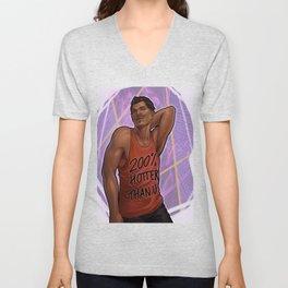 """""""Douchebag t-shirt"""" Dorian Unisex V-Neck"""