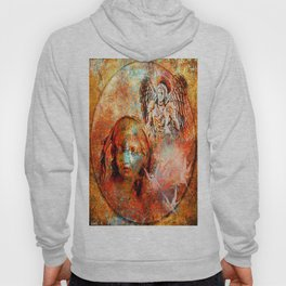 The annonciation of the archangel Gabriel to the Virgin Mary Hoody