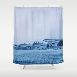 The little house Shower Curtain