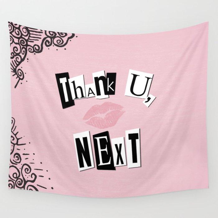 Thank U Next Descargar Gratis: Thank U Next Burn Book Wall Tapestry By Histrionicole