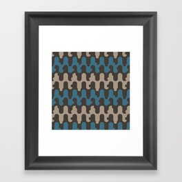 night hills Framed Art Print