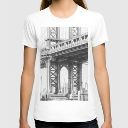 Manhattan Bridge Empire State T-shirt