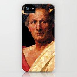 Historical Figures - Julius Caesar iPhone Case