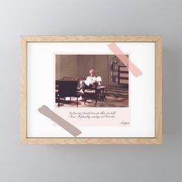 BTS Jin Epiphany Framed Mini Art Print