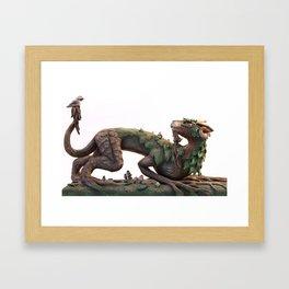 The Summer Tree Dragon Framed Art Print