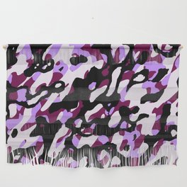 Purple Camo Wall Hanging