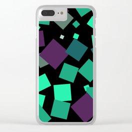 Retro 4 Clear iPhone Case