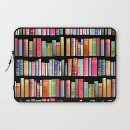 Vintage Book Library for Bibliophile Laptop Sleeve