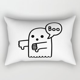 Ghost Of Disapproval Rectangular Pillow