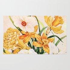 Wordsworth  and daffodils. Rug