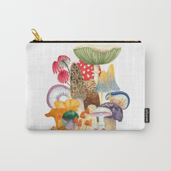 Woodland Mushroom Society Carry-All Pouch