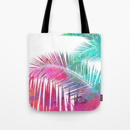 Palms Explosion Tote Bag