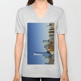 World Trade Center Freedom Tower NYC Unisex V-Neck