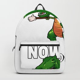 Dinosaur Dino T-Rex Funny Sweetie Backpack