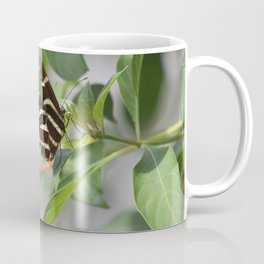 Zebra Longwing on a Firebush flower Coffee Mug