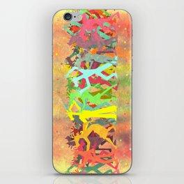Conga Line Unicorns iPhone Skin