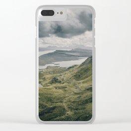 The Quiraing - Isle of Skye Scotland -  Fine Art Landscape Photograph Clear iPhone Case