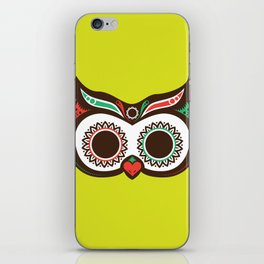 Day 0f the Dead Owl iPhone Skin
