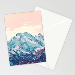 Memories of a sky palette Stationery Cards