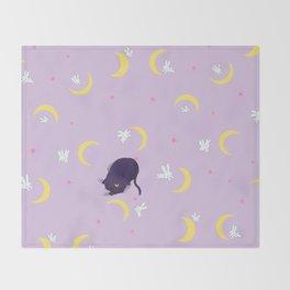 Sailor moon bed Throw Blanket