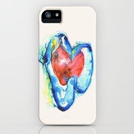 Brain Hearts iPhone Case