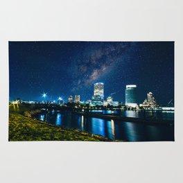 Milwaukee Skyline Rug