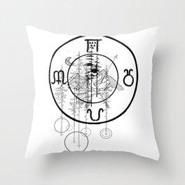 Nature O'clock Throw Pillow
