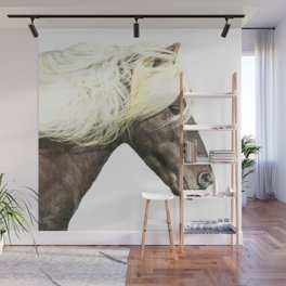 Horse Profile Wall Mural